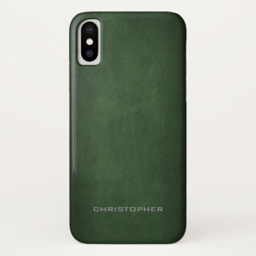 Textured Look with Upscale Manly Design Phone Case