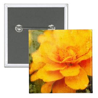 Textured Marigold Button