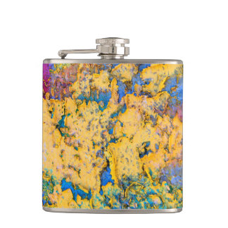 Textured Paint Flask