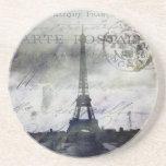 Textured Paris Coaster
