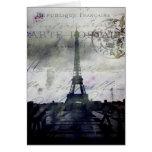 Textured Paris in Lavender Card