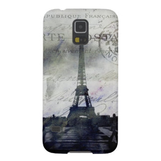 Textured  Paris in Lavender Galaxy S5 Cover