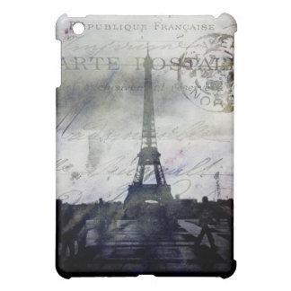 Textured Paris in Lavender Case For The iPad Mini