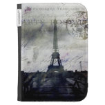 Textured Paris in Lavender Cases For Kindle