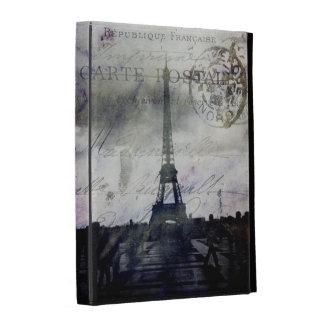 Textured Paris in Lavender iPad Folio Cover