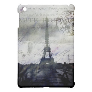Textured Paris in Lavender iPad Mini Cover