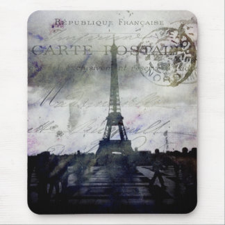 Textured Paris in Lavender Mouse Pad