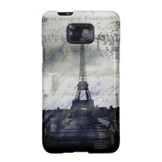 Textured Paris in Lavender Samsung Galaxy Case Galaxy S2 Cases