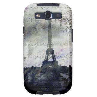 Textured Paris in Lavender Samsung Galaxy Case Galaxy SIII Case