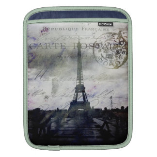 Textured Paris in Lavender Sleeve For iPads