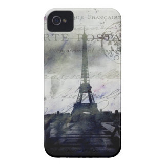 Textured Paris iPhone 4 Barely There Case