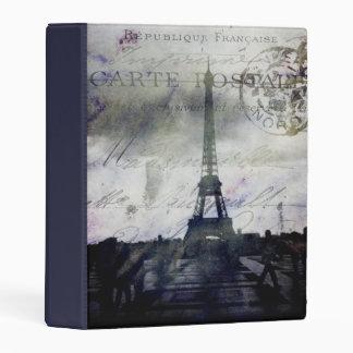 Textured Paris Mini Album Mini Binder