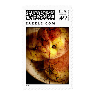 Textured Peaches Postage