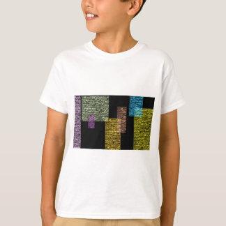 Textured rectangles. T-Shirt
