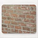 Textured Red brick wall Mouse Pad