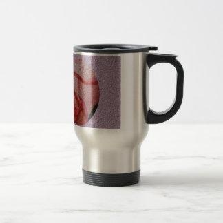 Textured Rose Bud Travel Mug