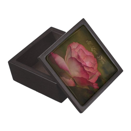Textured Rose Gift Box