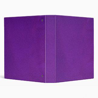 Textured Royal Purple 3 Ring Binder