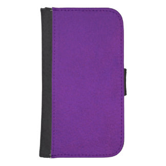 Textured Royal Purple Phone Wallet