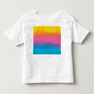 Textured Spring Watercolor Toddler T-shirt