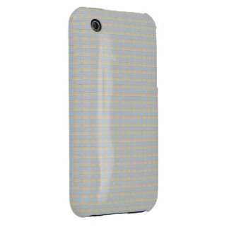 Textured Squares Lake iPhone 3 Case-Mate Case