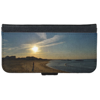 Textured Sunset by Shirley Taylor iPhone 6/6s Wallet Case
