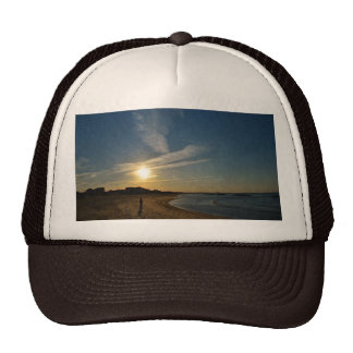 Textured Sunset by Shirley Taylor Trucker Hat