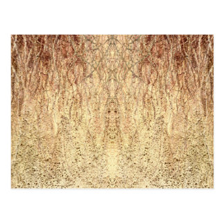 Textured Tan Soil Pattern Postcard