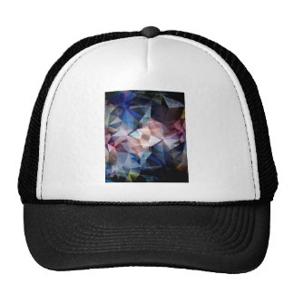 Textured Triangle Abstract Trucker Hat