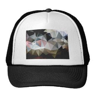 Textured Triangles Trucker Hat