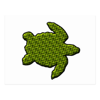 Textured Turtle Postcard