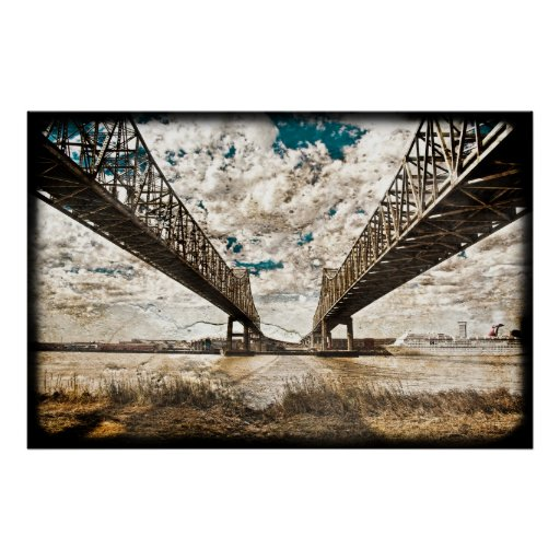 Textured Twin Span Poster