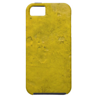 Textured yellow paint iPhone 5 cover