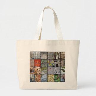 Textures of Japan Jumbo Tote Bag