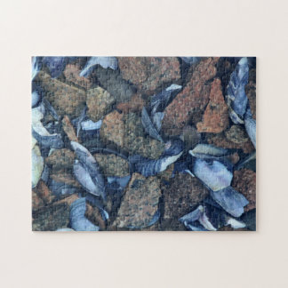 'Textures of Maine 1' Puzzle