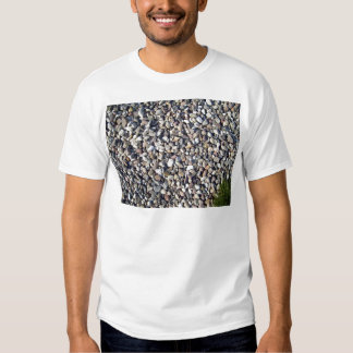Textures of stone and Green plant Tee Shirt