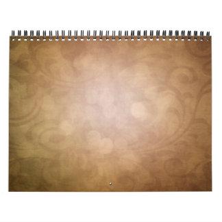 texturice un calendario del mes