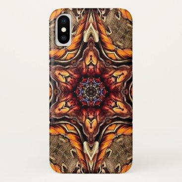 Aztec Themed Tezcatlipoca Demon Star Mandala Case