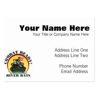 TF116 LARGE BUSINESS CARD