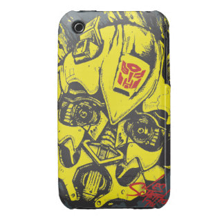 TF3 Crew Series: Bumblebee iPhone 3 Case-Mate Cases