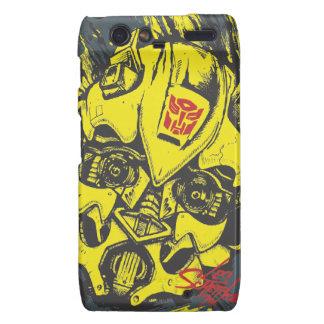 TF3 Crew Series: Bumblebee Motorola Droid RAZR Case