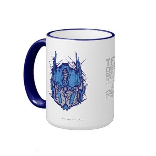 TF3 Crew Series: Optimus Prime Coffee Mug