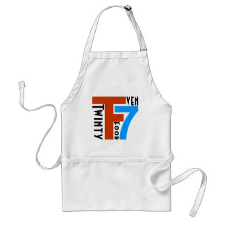 TF7 - Twinty Foor 7ven Adult Apron