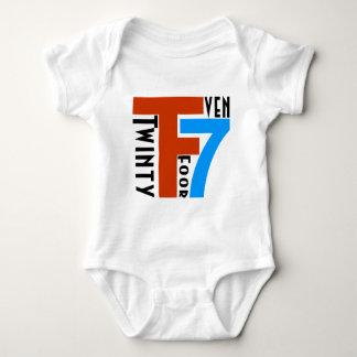 TF7 - Twinty Foor 7ven Baby Bodysuit