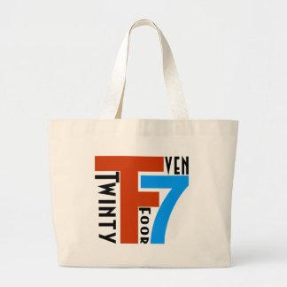 TF7 - Twinty Foor 7ven Bolsa Tela Grande