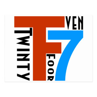 TF7 - Twinty Foor 7ven Tarjetas Postales