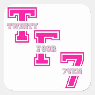 TF7's Square Sticker