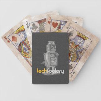 TF Robot Logo - Playing Cards