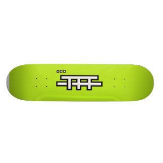 TFF basic (light green) Skateboard Deck