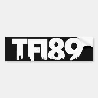 TFI89 pegatina para el parachoques B W Etiqueta De Parachoque